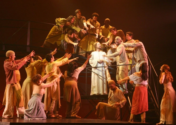 Photo Flash: Production Photos of JESUS CHRIST SUPERSTAR Starring Ted Neeley; Opens at Civic Center 1/15
