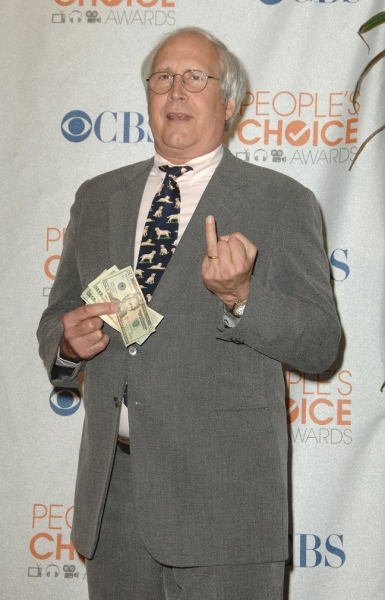 Chevy Chase at People's Choice Awards - The Winners
