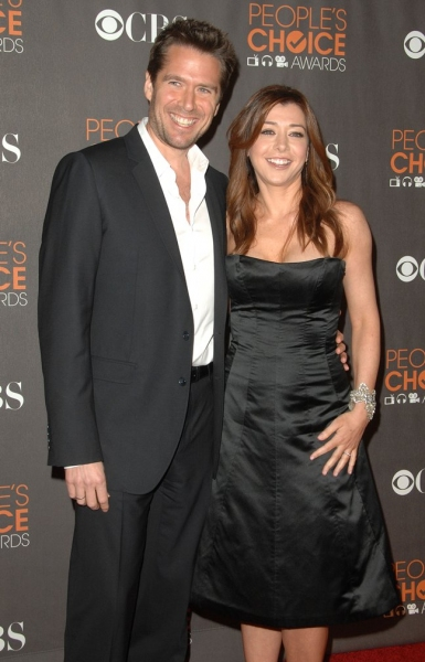 Alyson Hannigan and husband Alexis Denisof