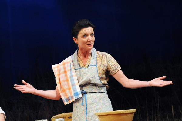 Michelle Fairley at Tricycle Theatre Presents GRETA GARBO CAME TO DONEGAL