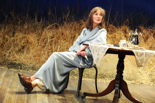 Caroline Lagerfelt at Tricycle Theatre Presents GRETA GARBO CAME TO DONEGAL