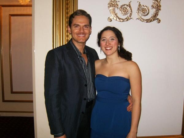 Paul Anthony Stewart and Sara Sheperd