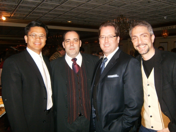 Jeff Espino, William Osetek, David New and Adam Pelty