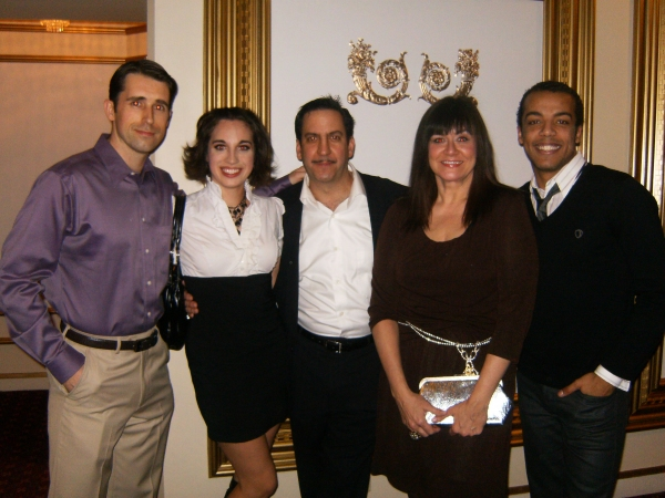 Jarret Ditch, Megan Simmons, Marc Grapey, Catherine Smitko and Joey Stone  Photo