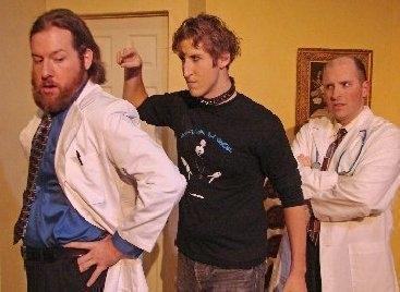 Joshua Harris, Danile Byshenk & Dave Lemries