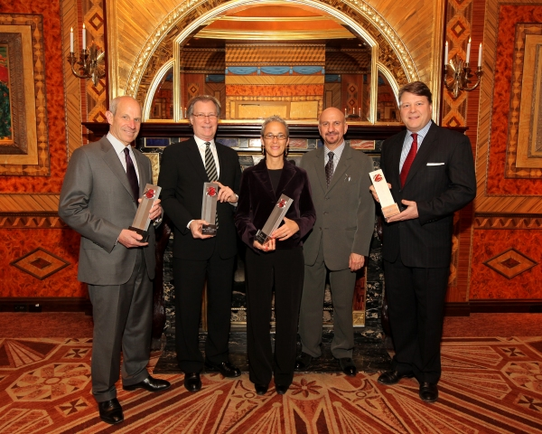 onathan Tisch, George Fertitta, Liz Newmark, Anthony Napoli, and Conrad Wangeman 