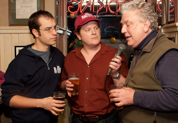Aaron Galligan-Stierle, Mark Aldrich, Dan Manning