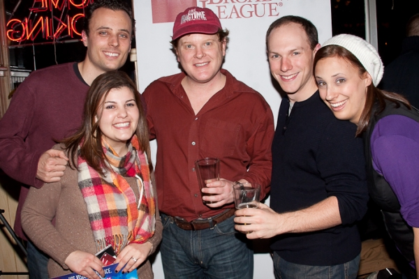 Photo Coverage: MEMPHIS & RAGTIME Casts Enjoy Happy Hour at Virgils