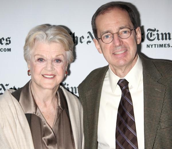 Angela Lansbury and Anthony Tommasini  at Angela Lansbury at The NY Times Arts & Leisure Weekend