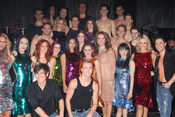 Photo Coverage: Derek Hough Makes BURN THE FLOOR Debut for Show's Final Performances
