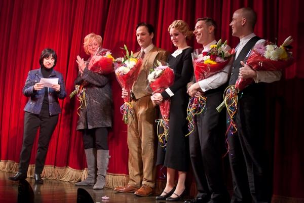 Harriet Newman Leve, Maria Aitken, Sean Mahon, Jill Paice, Arnie Burton, and Jeffrey Kuhn