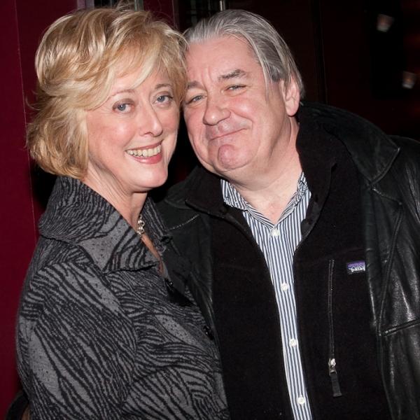 Director Maria Aitken and husband Patrick McGrath