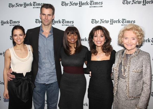 Rebecca Budig, Cameron Mathison, Debbi Morgan, Susan Lucci & Agnes Nixon