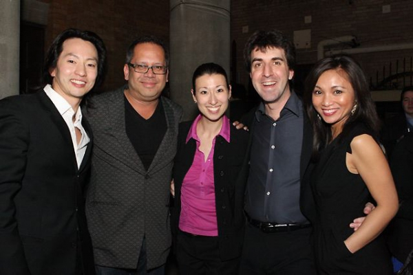 Michael K. Lee, Jon Lawrence Rivera, Kim Varhola, Jason Robert Brown and Jennifer Paz