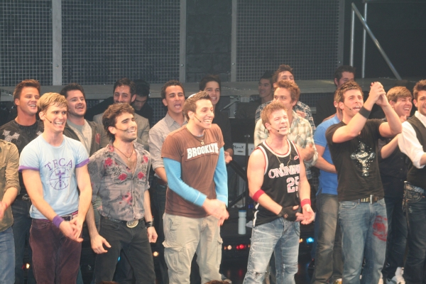Travis Nesbitt, Mauricio Perez, Ravi Roth, Lee Markham, Michael Kadin Craig and previous cast members