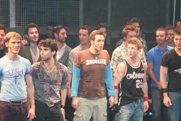 Travis Nesbitt, Mauricio Perez, Ravi Roth, Lee Markham and previous cast members