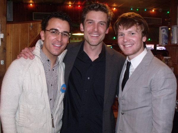 Carlos Encinias, Landon Beard and Corey Boadrman