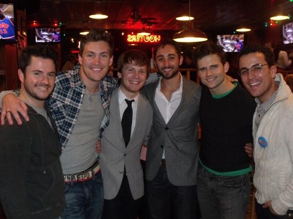 Jim Daly, Landon Beard, Corey Boardman, Eric Schneider, Kyle Dean Massey and Carlos Encinias