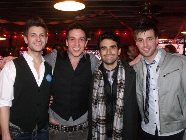 Tommaso Antico, Ravi Ruth, Mauricio Perez and Michael Kadin Craig