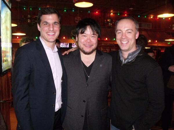 Co-Creator & Producer Ken Davenport, Stafford Arima and Marc Kessler (Co-Creator)