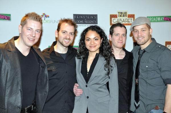 Trevor Newmann, Michael Aarons, Karen Olivo, Matt Caplan, Ben Thompson Photo