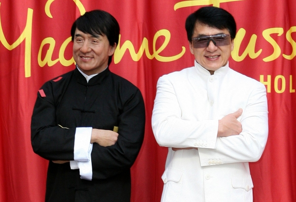 Jackie Chan at Jackie Chan Wax Unveiling at Madame Tussauds