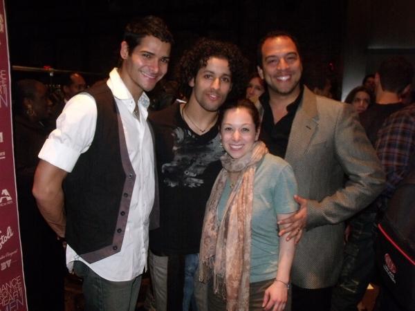 Waldemar Quinonis, Luis Salgado, Eduardo Vilaro and Alison Solomon