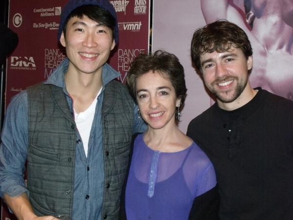 Moo Kim, Janis Brenner and Aaron Selissen