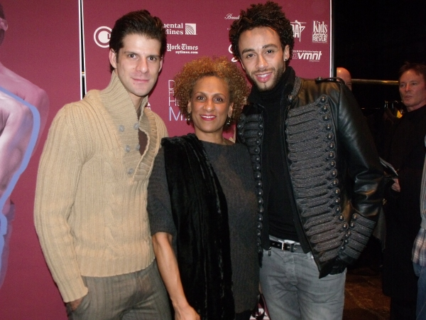 Marcelo Gomes, Sarita Allen and Rubi Pronk