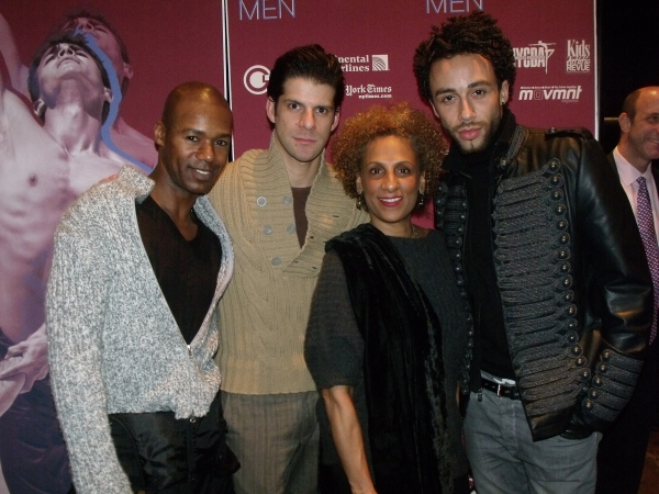 Ramon Flowers, Marcelo Gomes, Sarita Allen and Rubi Pronk
