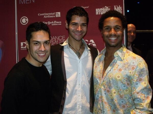 Mario Martinez, Waldemar Quinones and Rodney Hamilton