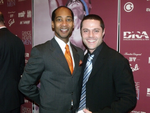 Christopher Davis and Josh Bergasse Photo