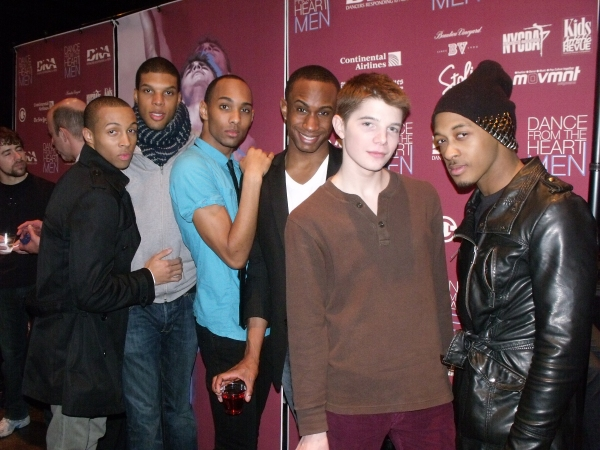 Levi Marsman, Tyrone Walker, Sean Carmon, Saleem Abdullahi, Doug Baum and Brandon O'N Photo