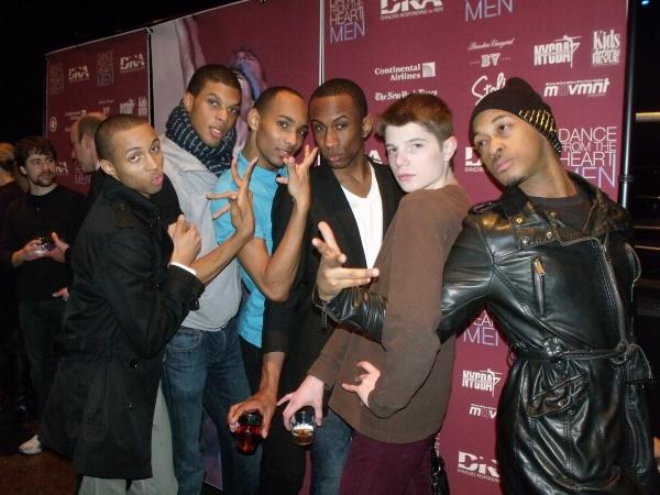 Levi Marsman, Tyrone Walker, Sean Carmon, Saleem Adbullahi, Doug Baum and Brandon O'N Photo