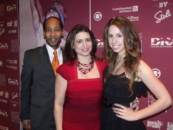Producers Christopher Davis, Denise Roberts Hurlin and Meagan Grund Photo