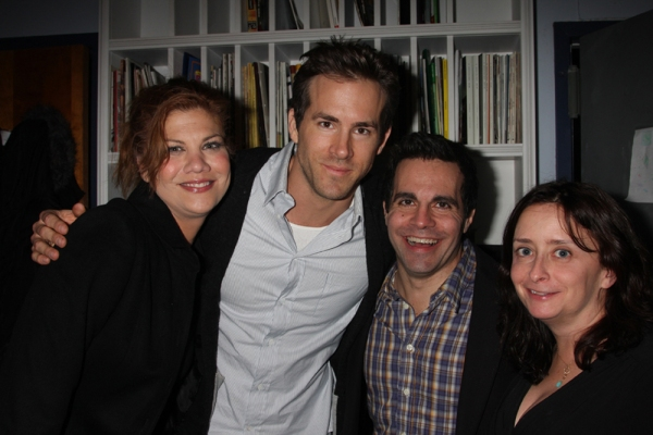 Kristen Johnston, Ryan Reynolds, Mario Cantone and Rachel Dratch