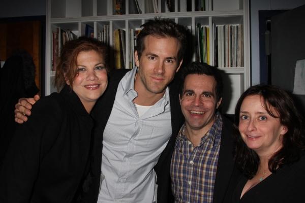Kristen Johnston, Ryan Reynolds, Mario Cantone and Rachel Dratch
