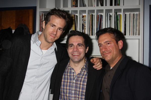 Ryan Reynolds, Mario Cantone and Eugene Pack