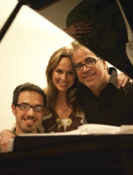 Ben Toth, Melora Hardin, Richard Jay-Alexander at SOUND OFF!: Rocket Woman - Melora Hardin's ALL THE WAY TO MARS
