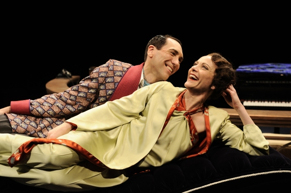 Robert Sella and Tracy Michelle Arnold at Page 1 Chicago Shakespeare Theater Presents PRIVATE LIVES