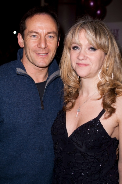 Jason Isaacs & Sonia Friedman at LEGALLY BLONDE THE MUSICAL West End Gala Night