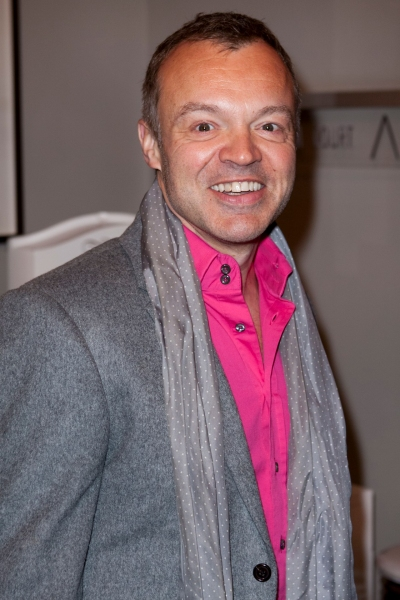 Graham Norton at LEGALLY BLONDE THE MUSICAL West End Gala Night