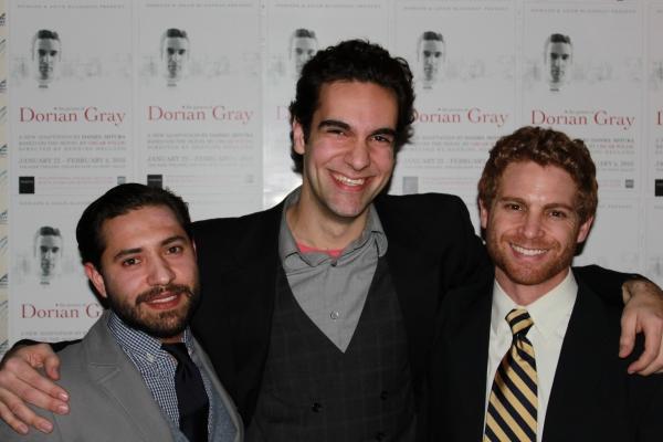 "Leif Huckman (""Basil""), Wil Petre (""Dorian Gray""), Vayu O'Donnell"