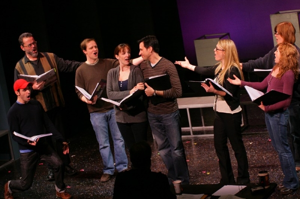 Robb Sapp, Bill Nolte, Jim Stanek, Julia Murney, Jordan Leeds, Heather Ayers, Sarah Jane Everman and Mary Gordon Murray