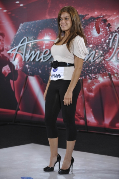 Boston auditioner Lisa Olivera