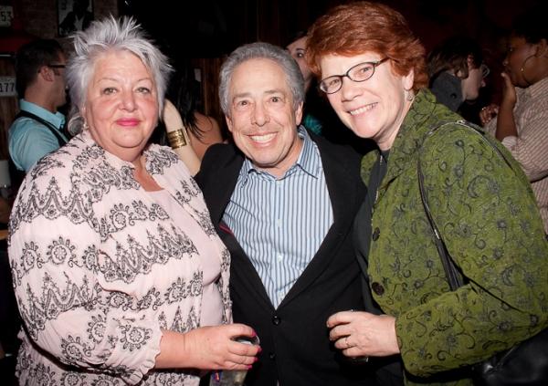 Fran Bizar, Kenny Alhadeff, and Sue Frost