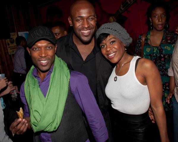Tyrone Jackson, John Eric Parker, Tracee Beazer