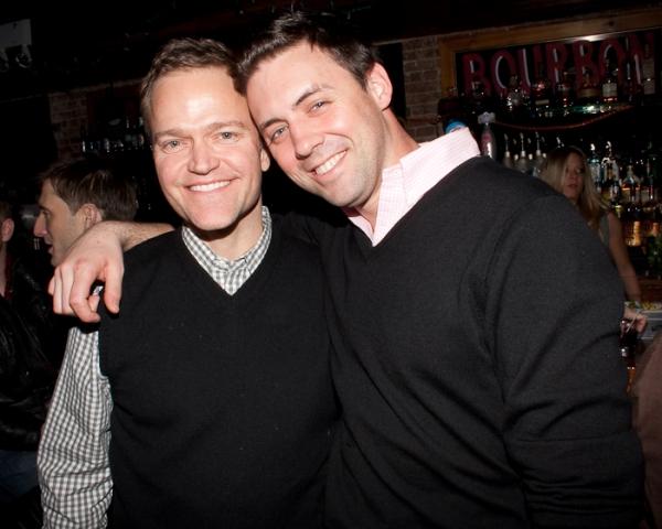 Michael Hartman and Nick Pramick