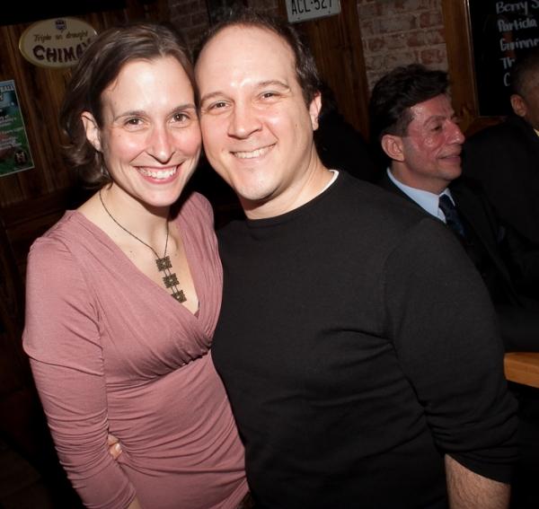 Monica Cuoco and David Kreppel