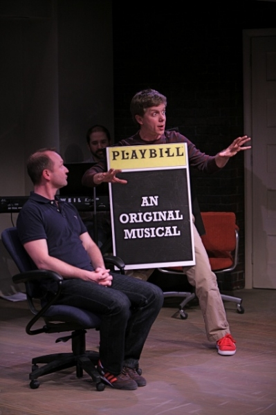 Photo Flash: Production Photos of The Repertory Theatre of St. Louis's Production of [title of show]